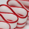 Peppermint Christmas Ribbons by Kathy Clark