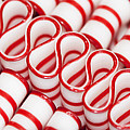 Peppermint Ribbon Candy by Kathy Clark