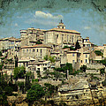 Perched Village Of Gordes by Carla Parris