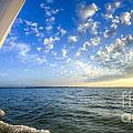 Perfect Evening Sailing On The Charleston Harbor by Dustin K Ryan