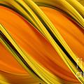 Peripheral Streak Image Of Squash by Ted Kinsman