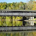 Perrine's Covered Bridge by Luke Moore