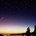 Perseid Meteor Trail by David Nunuk