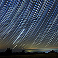Perseid Smoky Mountain Startrails by Daniel Lowe