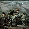 Perseus And The Graiae by Edward Burne-Jones