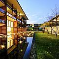 Perspective Of Contemporary Architecture by Setsiri Silapasuwanchai