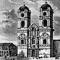 Peru: Jesuit Church, 1869 by Granger