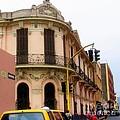 Peruvian Streets by Karen Wiles