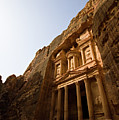 Petra Treasury At Morning by Universal Stopping Point Photography