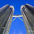 Petronas Tower Bridge Detail by Gualtiero Boffi