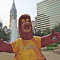 Phanatic Love Statue In The City by Alice Gipson