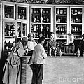 Pharmacy C. 1900 by Photo Researchers