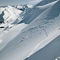 Phil Atkinson Skiing The Dogtooth Range by Tim Laman