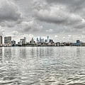Philadelphia Across The Water by Jennifer Ancker