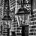 Philadelphia Building Lamps by Val Black Russian Tourchin