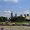 Philadelphia Skyline 5 Art Museum by Bener Kavukcuoglu