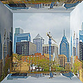 Philadelphia Skyline - Mirror Box by Mother Nature