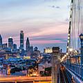 Philadelphia Skyline by Vns24@yahoo.com