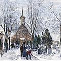 Philadelphia: Winter, 1873 by Granger