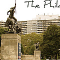 Philadelphian View From Museum by Alice Gipson