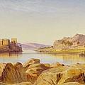 Philae - Egypt by Edward Lear