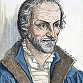 Philipp Melanchthon (1497-1560). German Scholar And Religious Reformer: Line Engraving, German, 19th Century by Granger