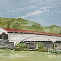 Philippi Covered Bridge  by Nancy Patterson