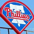 Phillies Logo by Carol Christopher