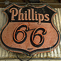 Phillips 66 Vintage Sign by Bob Christopher