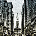 Philly - Broad Street by Bill Cannon
