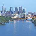 Philly In Blue by Alice Gipson