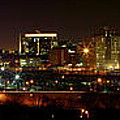 Philly Night Panoramic by Alice Gipson
