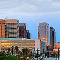 Phoenix Skyline At Dusk by Jon Holiday