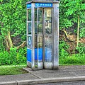 Phone Booth At Eden Park by Jeremy Lankford