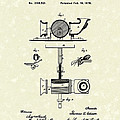 Phonograph 1878 Patent Art  by Prior Art Design