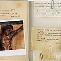 Photo Of Crucifix With Bible Verses. by Jill Battaglia
