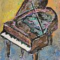 Piano Study 2 by Anita Burgermeister