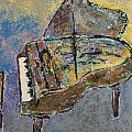 Piano Study 3 by Anita Burgermeister