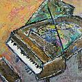 Piano Study 4 by Anita Burgermeister
