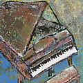 Piano Study 5 by Anita Burgermeister