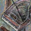 Piano Study 9 by Anita Burgermeister