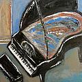 Piano With Spiky Heel by Anita Burgermeister