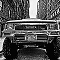 Pick Up Truck On A New York Street by John Farnan