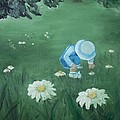 Picking Flowers by Angela Stout