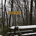 Picnic Table In Snow by Will and Deni McIntyre