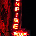 Picture Of Empire Tavern And Liquors Sign Fargo Nd by Paul Velgos
