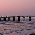 Pier At Sunrise by Rod Andress