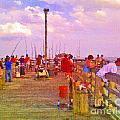Pier Fishing by Scott Hervieux