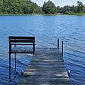 Pier On The Lake by Snapshot Studio