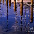 Pier Reflections by Mike Nellums